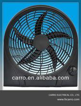 Portable 12V 10'' Solar DC Box Fan