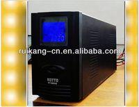 UPS (uninterruptible power supply) sine wave battery outside power