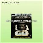 Aluminum foil zipper potpourri smoke/herbal spice packaging bag