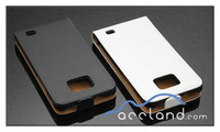 For Samsung Galaxy S2 I9100 Genuine Flip Leather Case