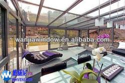 Aluminium sunrooms & glass houses specific design