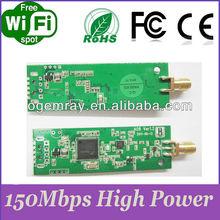High power 150Mbps USB embedded wifi network module