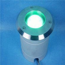DMX IP67 9W,RGB underground light/led garden lights exterior/above ground pool lights
