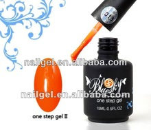 best quality and competitive price soak off UV/LED one step nail gel polish
