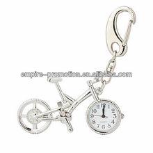 pretty design bike&clock Zinc Alloy keychain