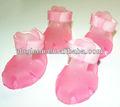 De cristal de verano menique zapatos de pet, lindo perro sandalias,