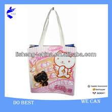 Cute Animal Cheap Shopper Reusable Shopping Bag Easy To Clean Recycled Material