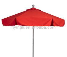 9' Aluminum/Fiberglass Market Patio Umbrella