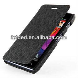 OEM Premium Leather Case for Motorola RAZR XT910/Droid RAZR XT912 -- Dijon II (LC: Black)