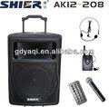 Shier AK12-208 de alta qualidade amplificador subwoofer ativo