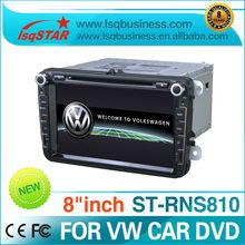 LSQ Star RNS-810 special car dvd for VW MAGOTAN POLO/JETTA/GOLF/EOS TSI/SEAT LEON/Rabbit/Sagitar/Baro/Skoda Octavia