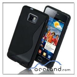 S Curve Gel TPU Case for Samsung Galaxy S 2 S II 9100