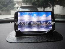 Universal Car Mount Holder GPS Rubber Dash Board Ostart Universal Jelly Sticky Pad Anti-slip Non-slip Mat - Black