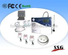 LCD Display Voiced GSM Burglarproof Alarm System/GSM Alarm /SSG-Y-GSM-LCD