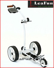 2013 New Shape Electric Golf Trolley ,24V Lithium Battery .400W Tubular Motors more than 36 Holes .,Free Accessory
