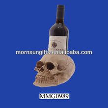Nemesis skull single decorative wine bottle holders