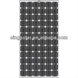 290W Solar panel price/ Grade A monocrystalline silicon solar cells