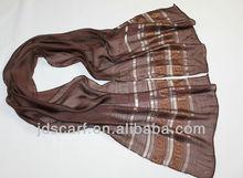 JDT-371# 50% polyester 50% viscose, silk , thin scarves