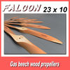 23 x 10 rc gas beech wood propellers