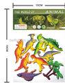 Eco- friendly borracha macia brinquedo do dinossauro