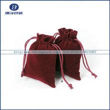 Printed Drawstring large velvet bags