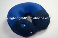 2013 Led light travel neck pillow