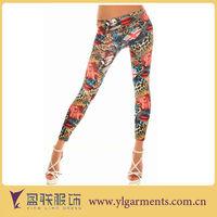 Fashion stretch leggings tights pants