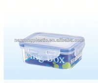 2013 China plastic products wholesale plastic box series food container china plastic children lunch box with handle