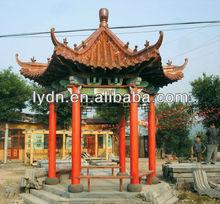 Traditional roof tiles for pavilion,temple,gateway,pergola