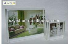 Customized acrylic frame acrylic poster holder