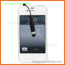 Small Order Accept Wholesale Bullet Stylus Pen For iPad/iPhone With Ear Plug