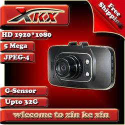 2013 Newest Ambarella CPU Black Box G8000H GS8000H Full HD 1080P Vehicle Camcorder G-Sensor 170 Degree Car DVR Freeshipping xkx