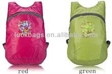 silk screen fashionable original active cute nylon backpack