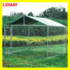 10' X 10' X 6 galvanized dog cage dog kennel with a-frame top