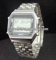 romanson quartz stainless steel watch