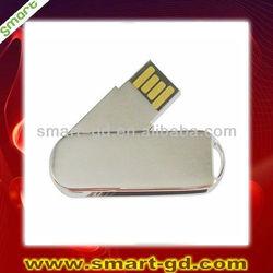 250GB metal swivel USB flash drive