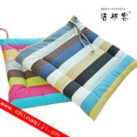 Color stripe cushion cover seat cushion