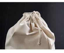 Blank Cotton Canvas Shoe Bag