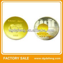 souvenir coin gold plated coin