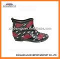 jardim pvc boot para as mulheres
