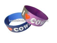Vogue unisex anti-static silicone bracelet for men cheap couple bracelets