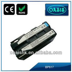 1800mAh external battery for digital camera for CANON BP617