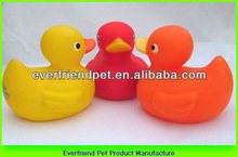 9cm pvc duck dog promotional promotion gifts