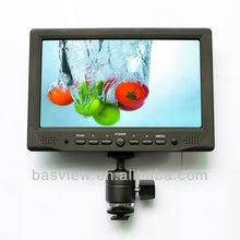 Rubber paint HDMI+VGA+DVI Input 7 inch High Resolution HDMI LCD Monitor