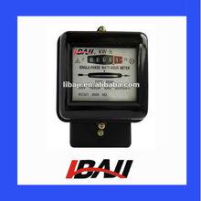 DD28 single phase induction energy watt hour meter
