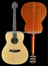 "40"" small Jumbo all solid handmade acoustic guitar"
