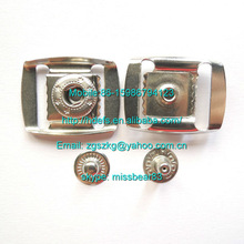 nickle color brass stainless steel ironmetal Cap buckle for fashion cap accessories