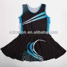 custom sublimation new fashion ladies netball dress 2013