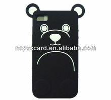 Cute Animal Silicone Mobile Phone Case