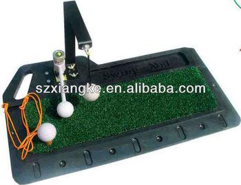 Golf swing mat